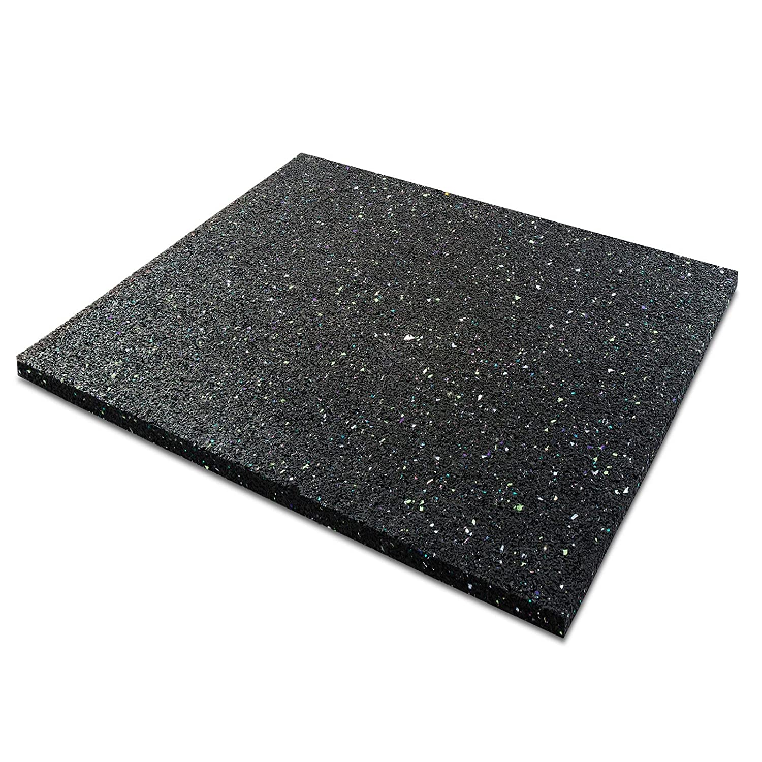 "casa pura Anti-Vibration Pad - Rubber Vibration Isolator Mat | Matting for Washing Machines, Washers, Dryers and Appliances | Multiple Thicknesses & Sizes | 3/8"" Thick - 24"" x 40"""