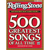 Rolling Stone Magazine Sheet Music Classics, Volume 1: 39 Selections from the 500 Greatest Songs of All Time (Easy Piano…