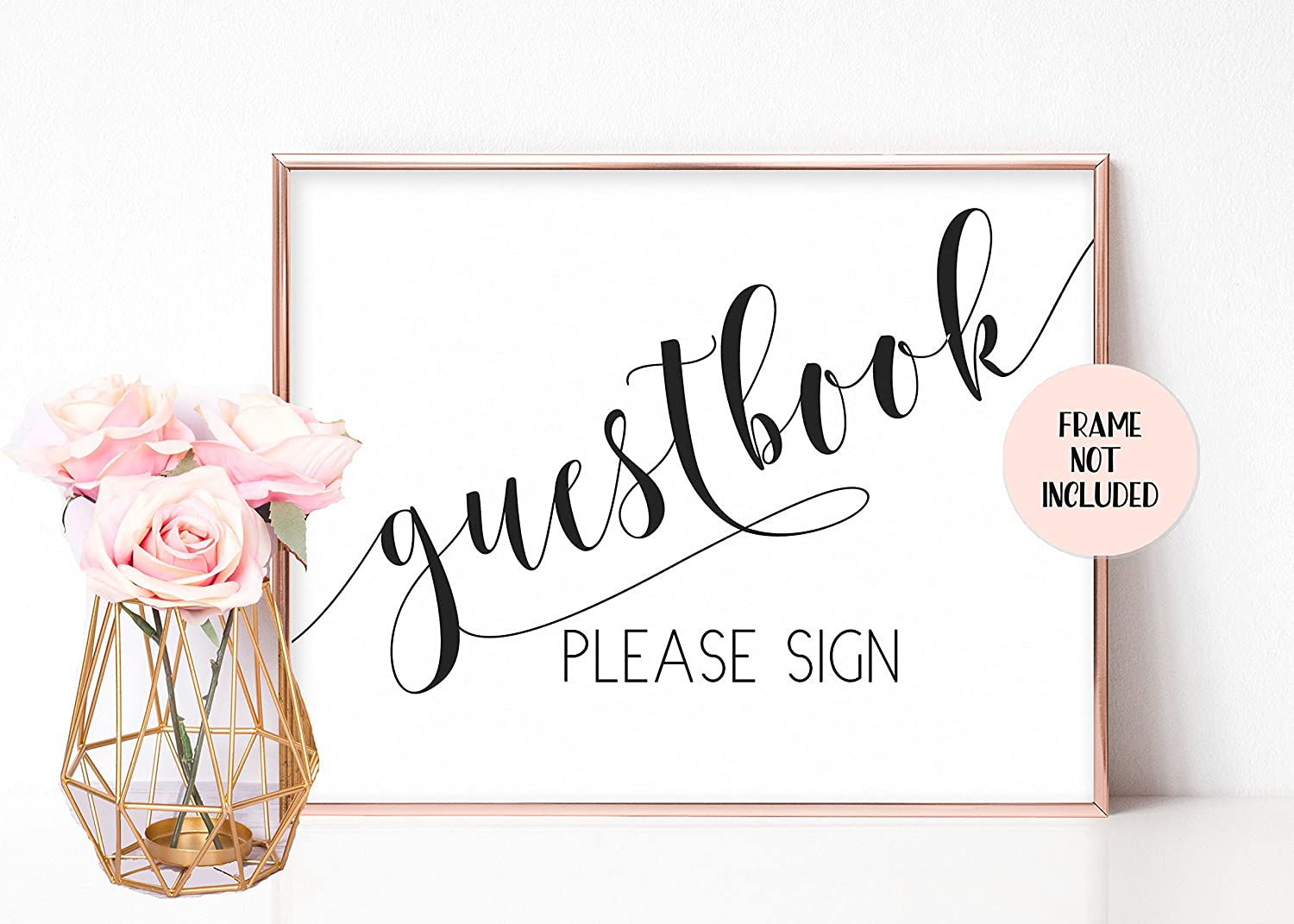 Guest Book Wedding.Fancy And Flair Guestbook Wedding Sign Wedding Guest Book Wedding