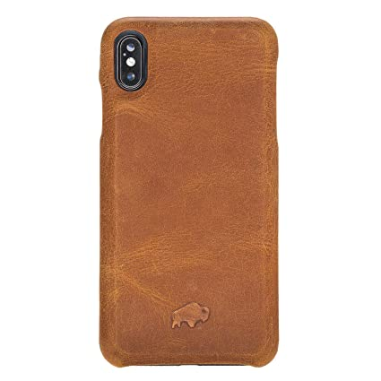 Amazon.com: Burkley - Funda para iPhone XS Max (piel ...