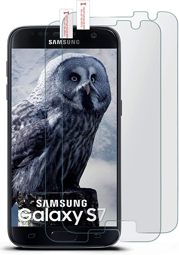 MoEx 2X OneFlow Cristal extrafuerte antirreflejos para Samsung Galaxy S7 Lámina extrafuerte para Cristal | Lámina Protectora de Pantalla de Vidrio auténtico| El Mejor Ajuste y la protección óptima: Amazon.es: Electrónica