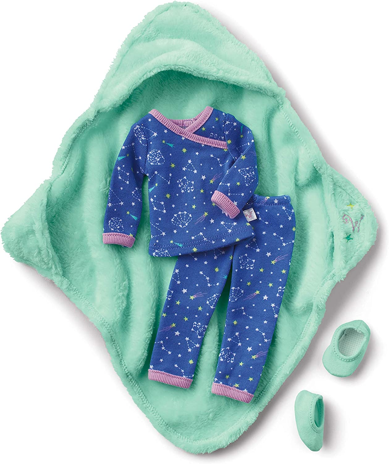 American Girl WellieWishers Starry Sky Pajamas for 14.5