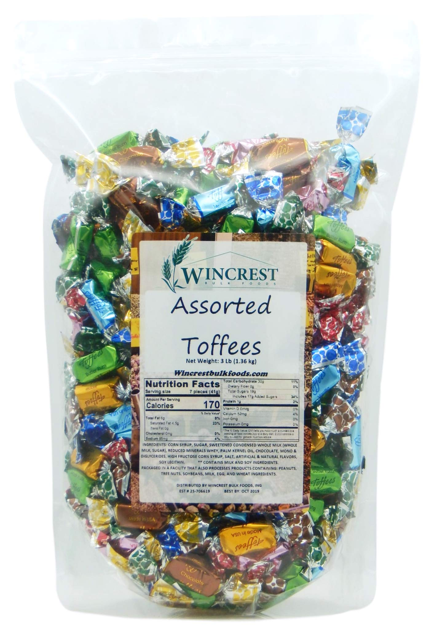 Assorted Toffees - 3 Lb Package