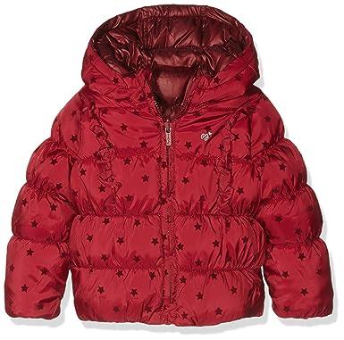 Pepe Jeans Julie, Abrigo Niños, Rojo (Dk Red), 6 años (