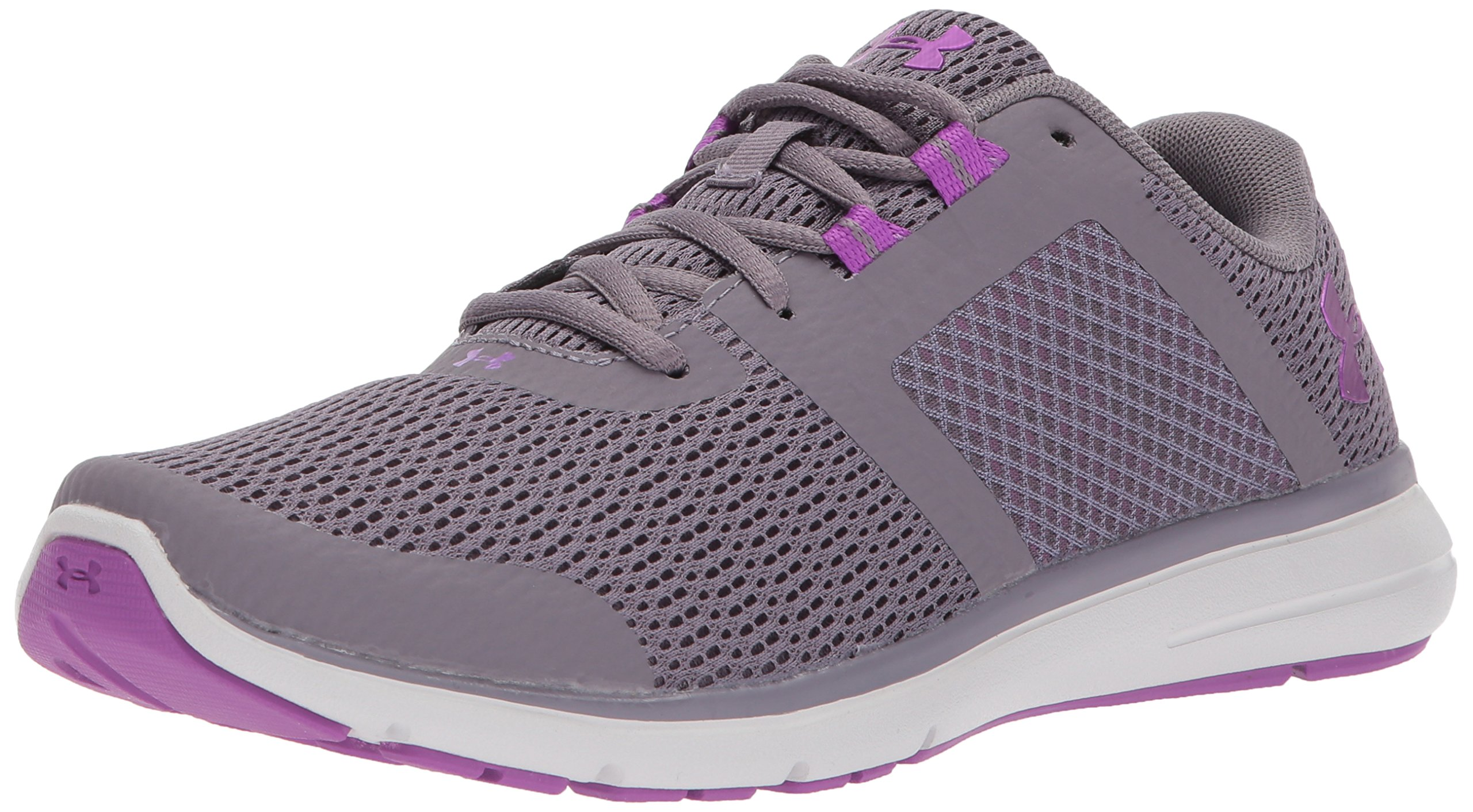Under Armour Women's Fuse FST Running Shoe, Flint (101)/Glacier Gray, 9