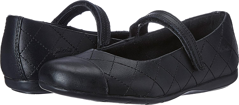 Clarks Dance Roxy Girls Infant Shoes 11.5 F Black