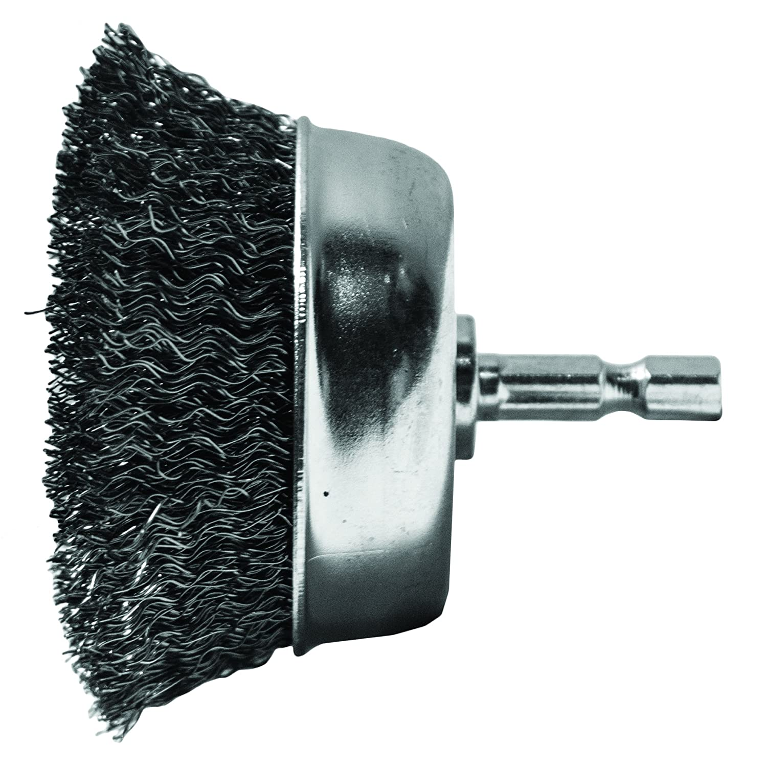 Century Drill and Tool 76221 Coarse Drill Cup Wire Brush 2 3 4 Inch