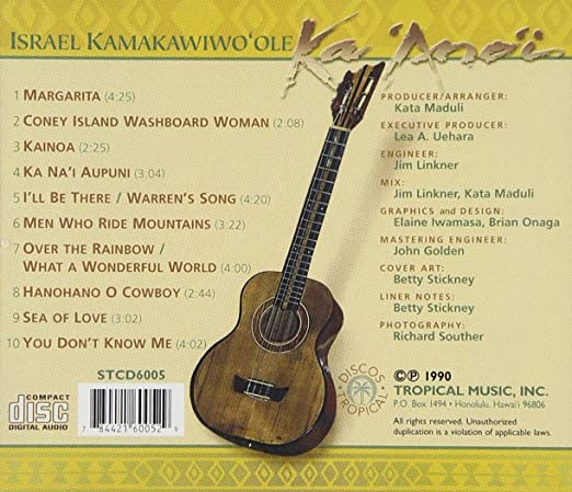 Ka anoi: Israel KamakawiwoOle: Amazon.es: Música