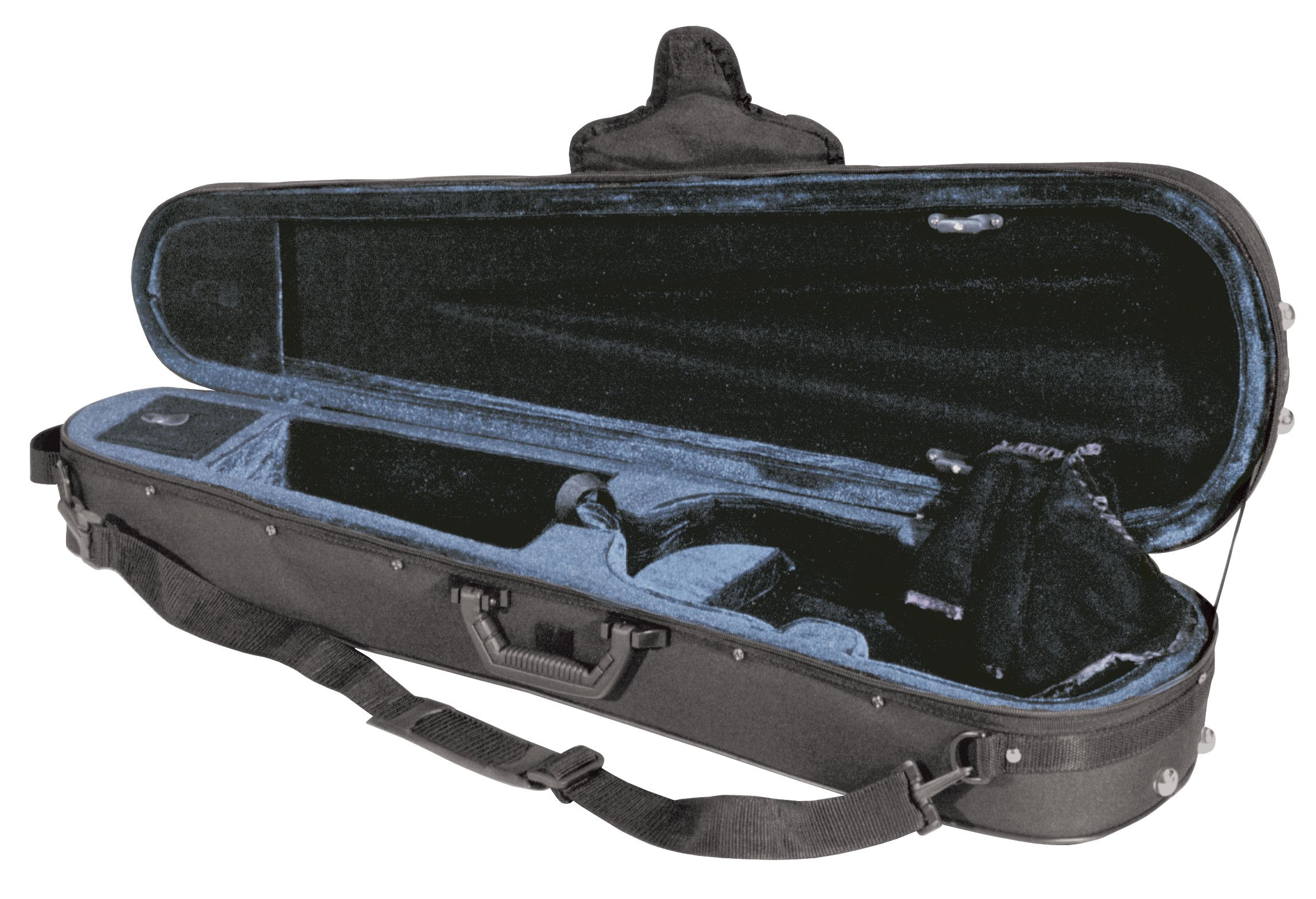 Guardian CV-013-3/4 Deluxe Featherweight Case, 3/4 Size Violin