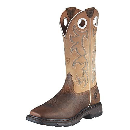 0267a09eb29 Amazon.com | Ariat Men's Workhog Wide Square Toe Tall Boot ...