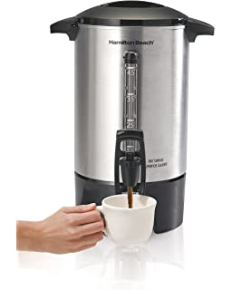 Amazoncom Hamilton Beach 40540 Brew Station 40 Cup Coffee Urn