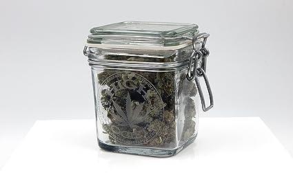 Merveilleux Dope Jars   Herb Storage, Swing Top Stash Jar   With Dope Designs Deep  Etched