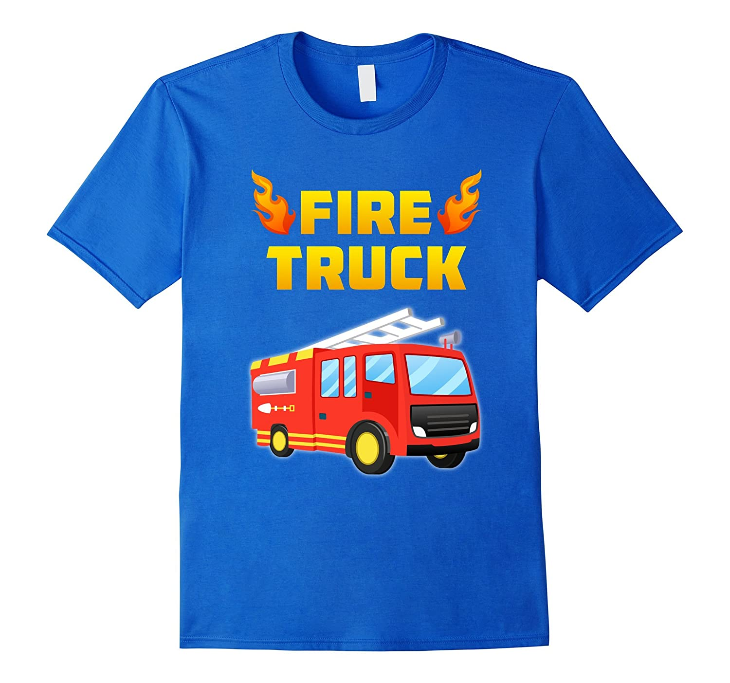 Fireman Fire Truck Fire Fighter T-Shirt Toddler Adults Kids-ANZ