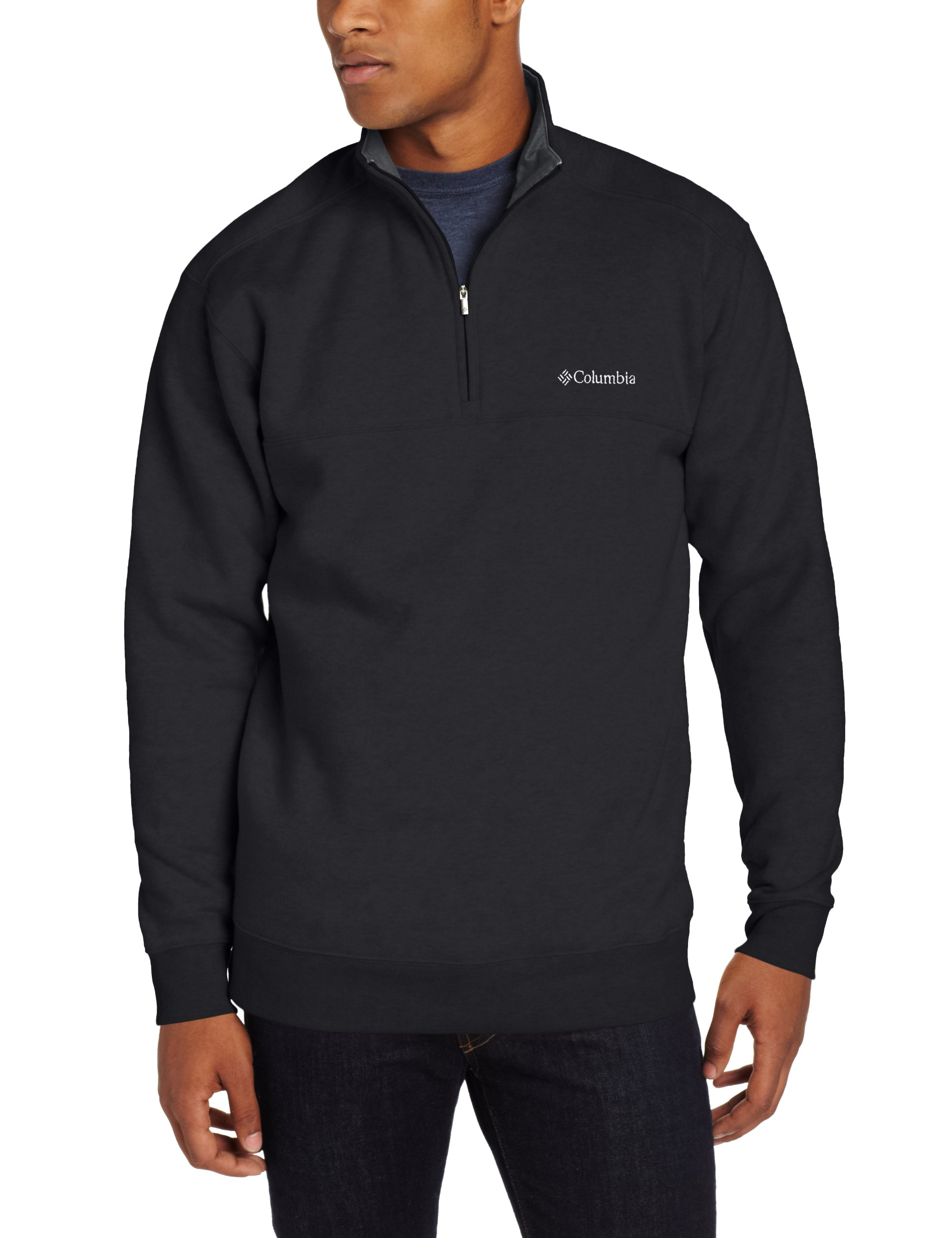 Columbia Men's Hart II 1/2 Zip Jacket, Black, Large