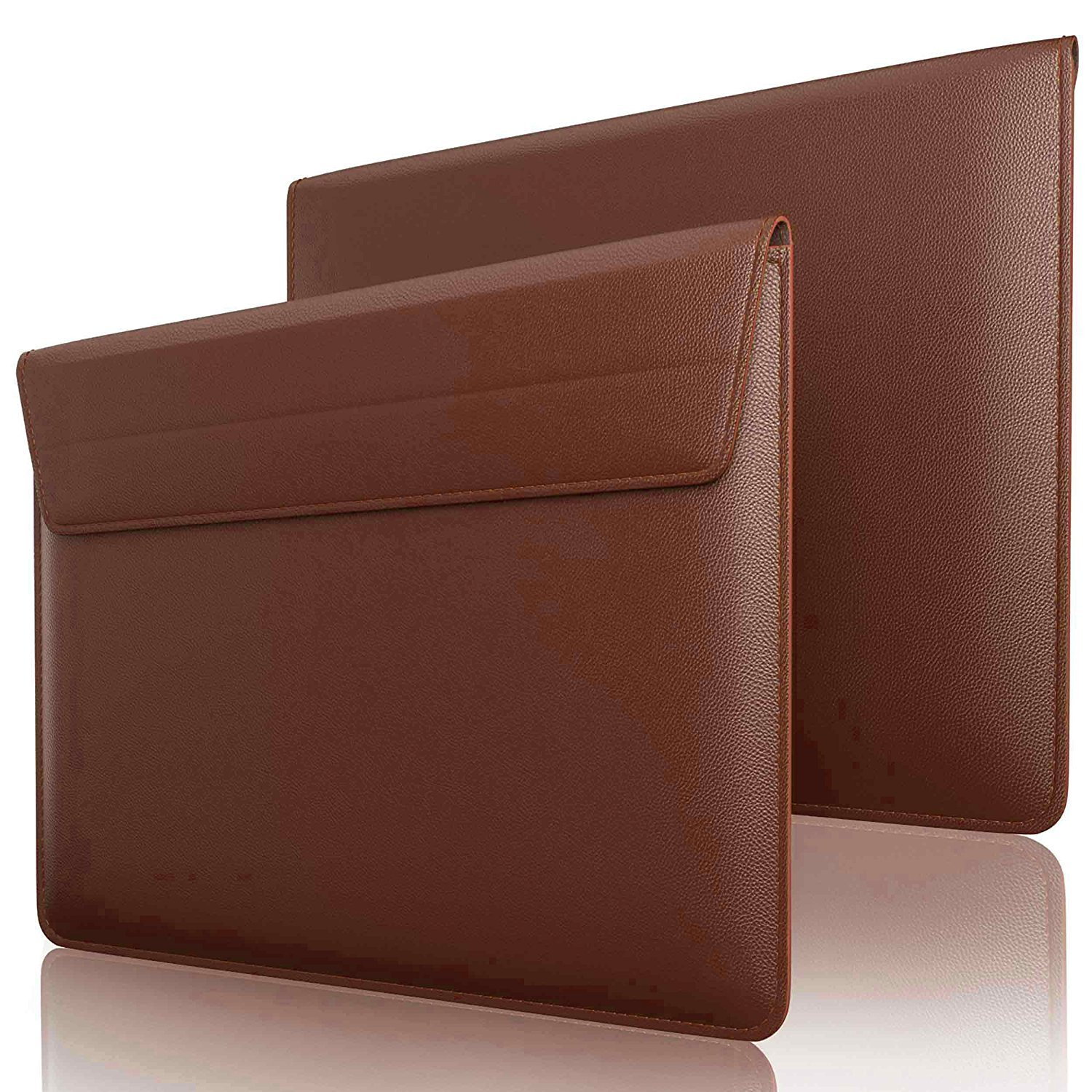 House of Quirk Leather Sleeve Case for MacBook Air 13.3