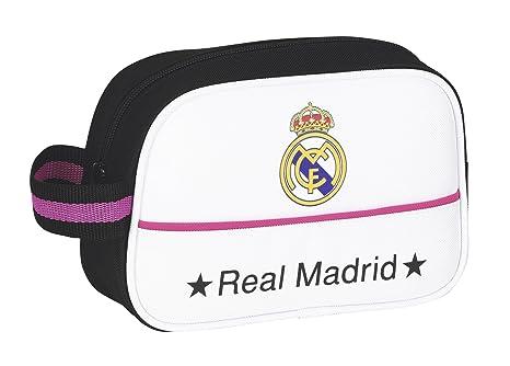 6285431e3 Safta - Neceser Real Madrid, 22 x 14 x 8 cm (811457234): Amazon.es ...