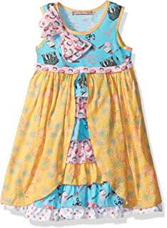 427e723784aa Jelly the Pug Girls  Little Spring in Paris Floral Hannah Dress