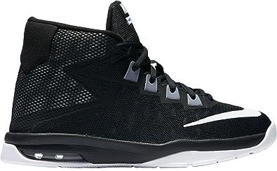 online retailer c4b7c 31873 Nike Air Devosion (GS) Chaussures de Basket-Ball, Garçons, Noir, 36 ...