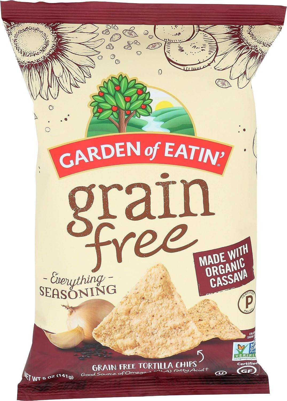 Garden Of Eatin, Grain Free Everything Tortilla Chips, 5 Ounce