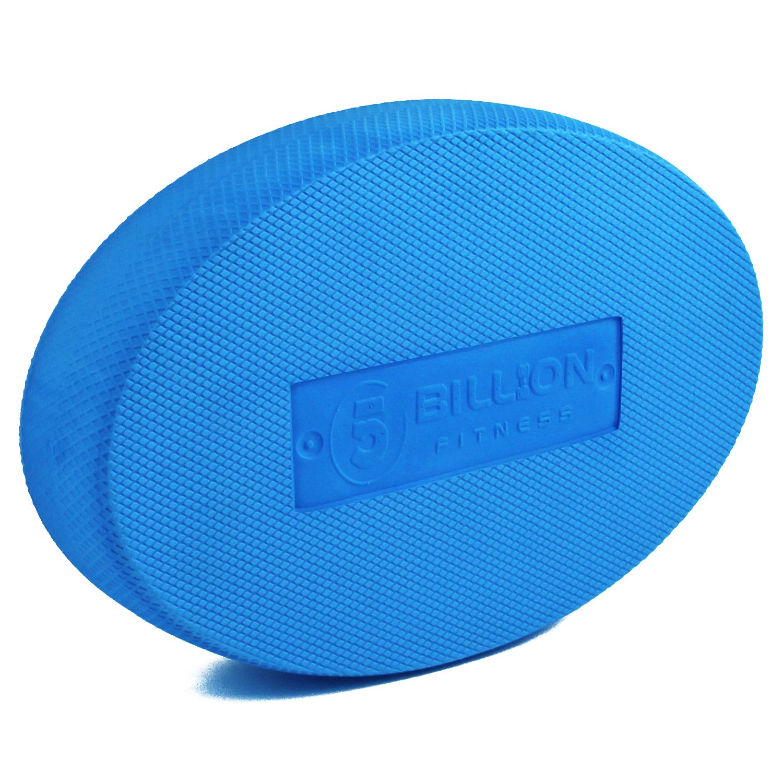 5BILLION Balance Pad - Oval - Exercise Pad & Foam Balance Trainer - Wobble Cushion for Physical Therapy, Rehabilitation, Dancing Balance Training