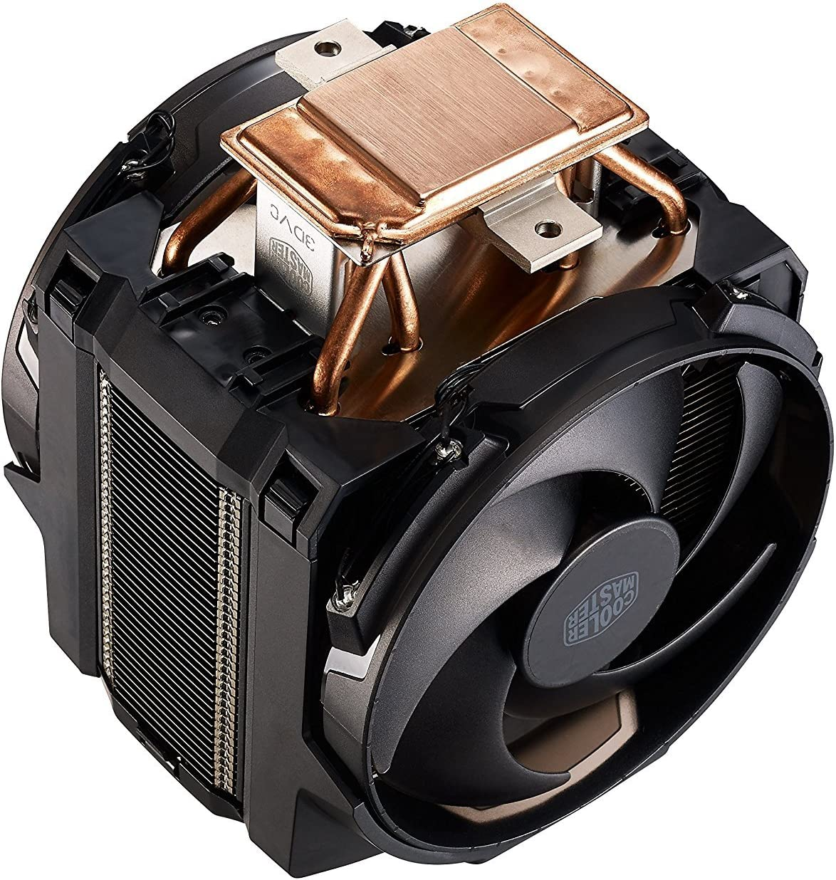 Cooler Master MasterAir Maker 8 CPU Air Cooler 8 Heatpipes Red LED MAZ-T8PN-418PR-R1 2X Silencio FP PWM Fans