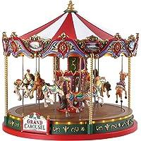Lemax 84349 - The Grand Carousel/duża karuzela z adapterem 4,5 V - NOWOŚĆ 2018 - Caddington Village - Animowana karuzela…