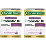 Nature's Bounty Ultra Probiotic 10, 60 Count, 2 Pack
