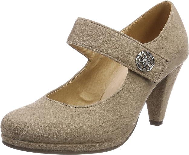 TALLA 41 EU. Andrea Conti 3591515, Zapatos de tacón con Punta Cerrada para Mujer