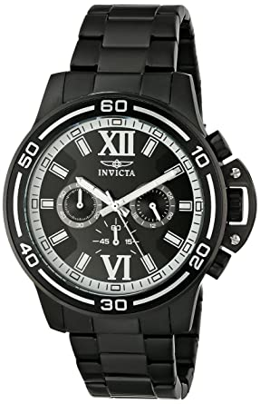 Invicta Mens 15062 Specialty Analog Display Japanese Quartz Black Watch
