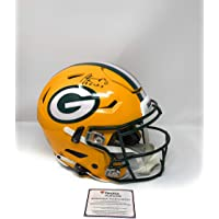 $999 » Aaron Rodgers Green Bay Packers Signed Autograph Full Size RARE SPEED FLEX AUTHENTIC PROLINE Helmet RELAX INSCRIBED Fanatics…