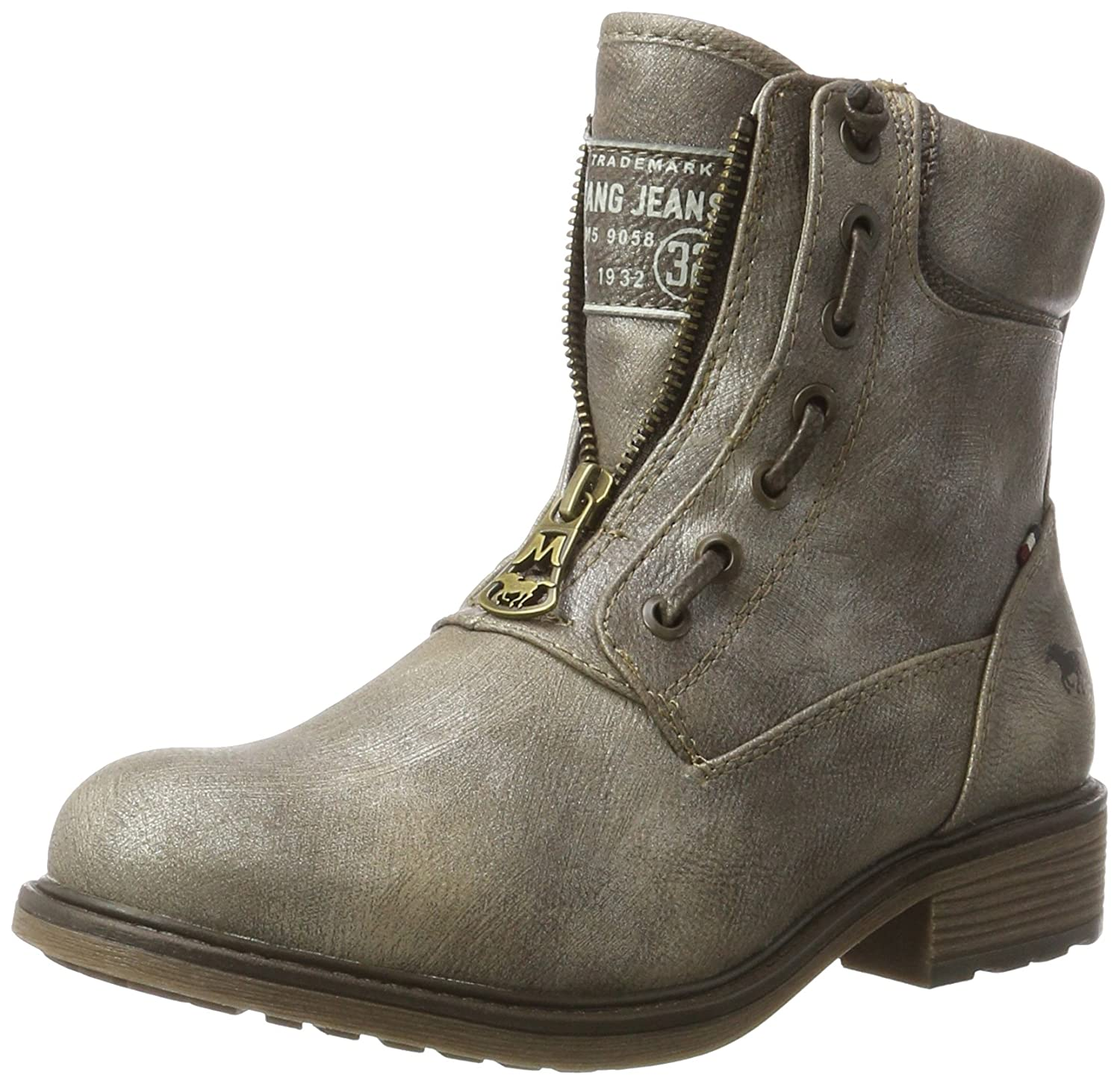 Mustang Femme 1264-605-258, Bottes Femme B00N3LHY70 Gris 1264-605-258, (Titan) efb29d3 - latesttechnology.space