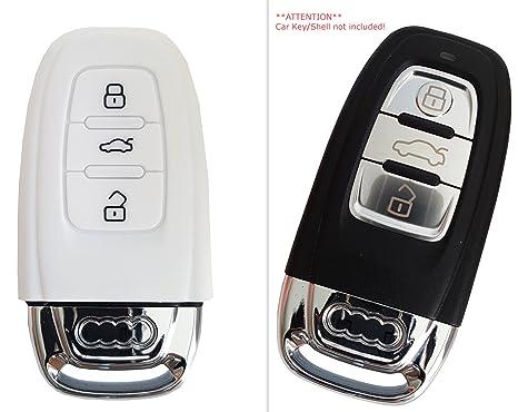 Funda de silicona para coche Audi para A1A3S3 ...