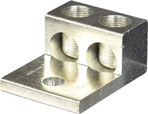 2 Port Aluminum Lug 600 MCM - 2 AWG - 1 Count