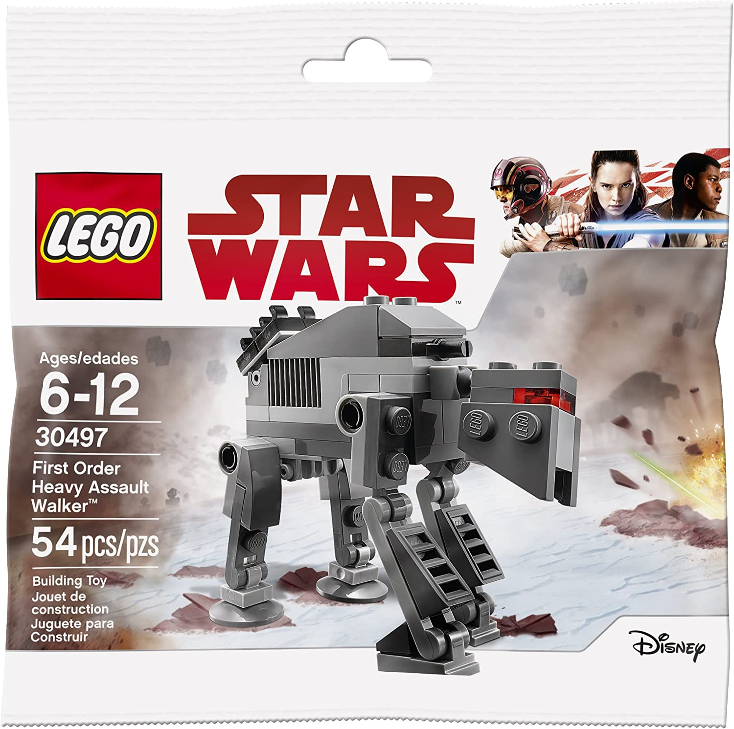 Lego Star Wars: The Last Jedi First Order Heavy Assault Walker (30497) Bagged