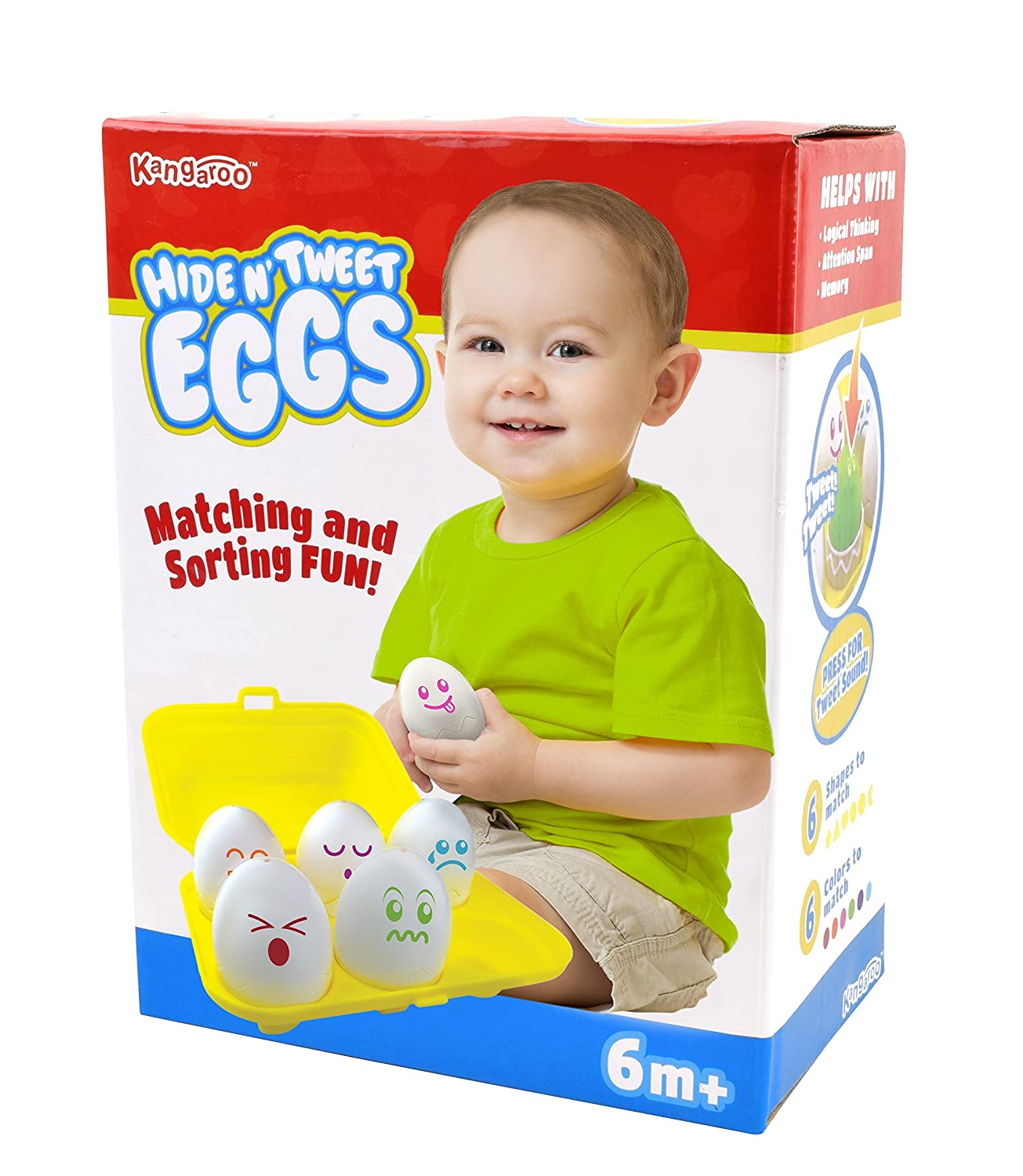 Amazon Hide N Tweet Eggs Chirping Squeaky Eggs Educational