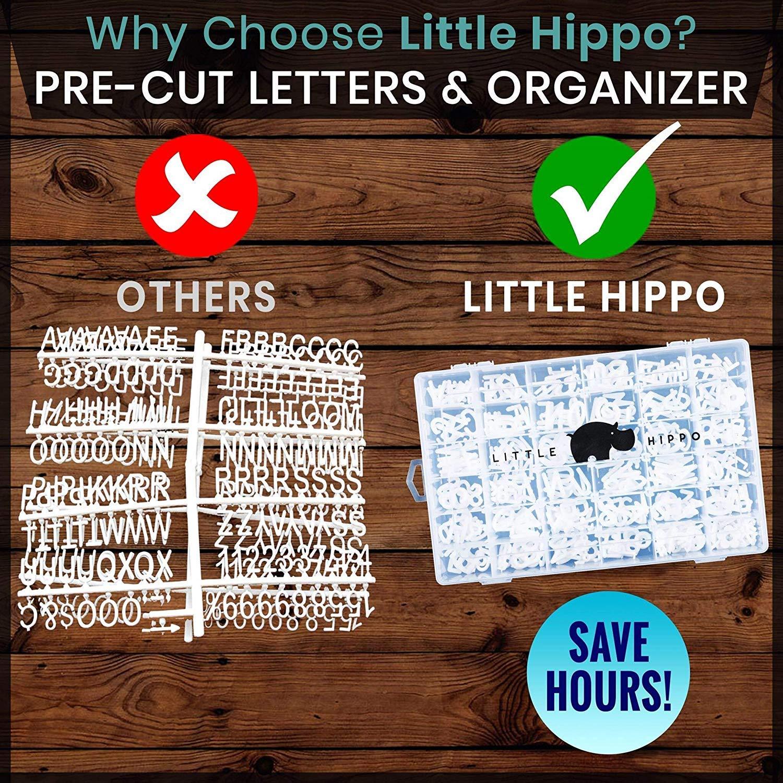 amazon com felt letter board 10x10 690 pre cut letters stand