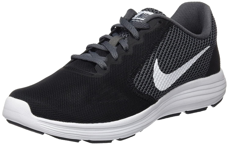Nike Revolution 3, Zapatillas de Running para Hombre 40 EU|Negro (Black/white-dark Grey-anthracite)