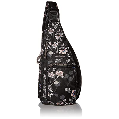 Vera Bradley Lighten Up Mini Belt Bag or Sling, Holland Bouquet: Clothing