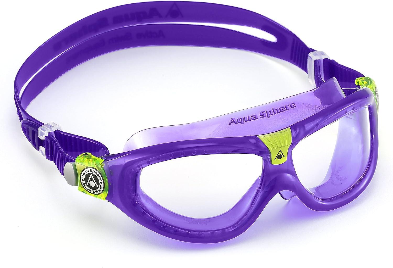 Aqua Sphere Seal Kid 2 Lilac//Clear Lenses