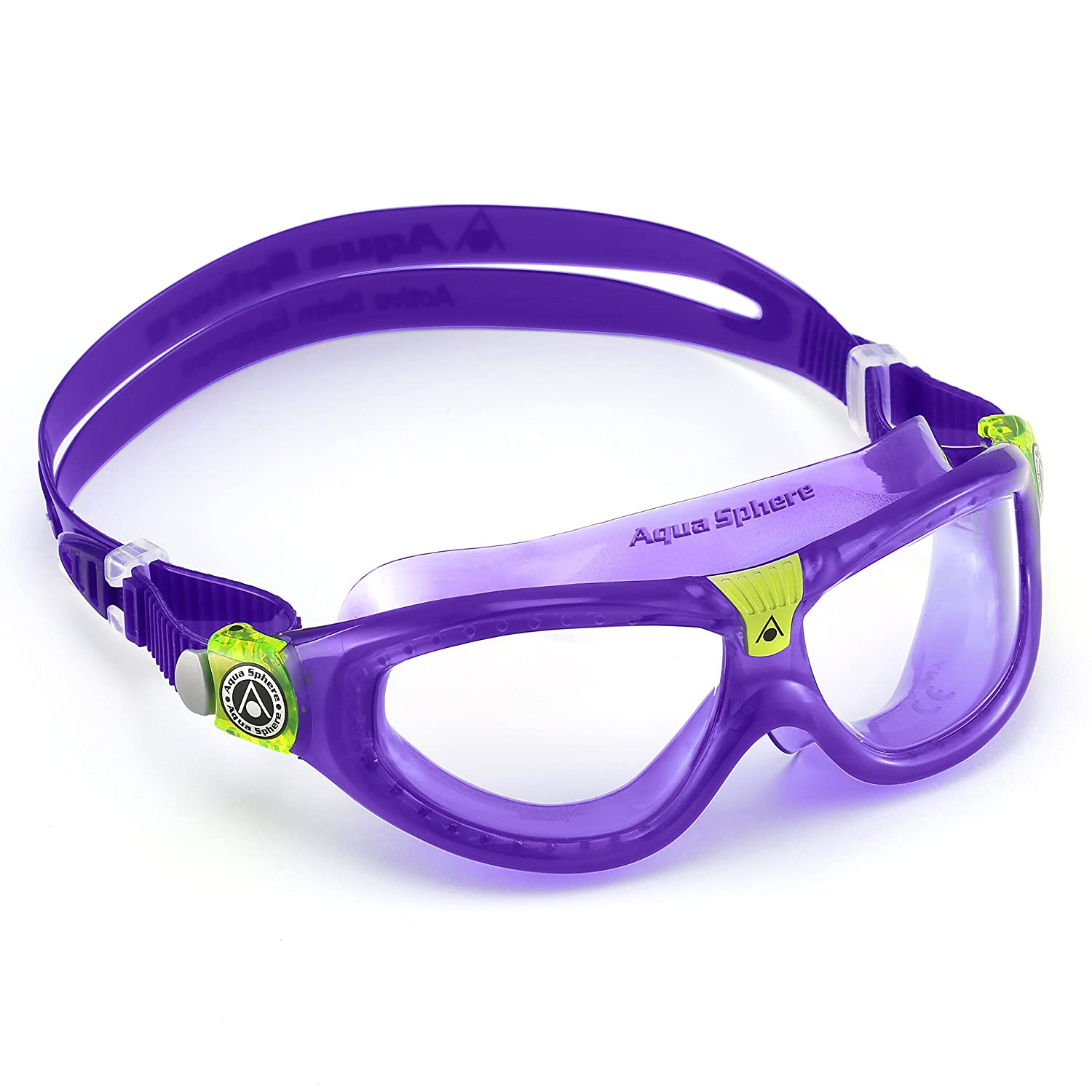 808e01f816 Aqua Sphere Seal Kids 2 - Violet   Clear (Old Version)  Amazon.co.uk   Sports   Outdoors