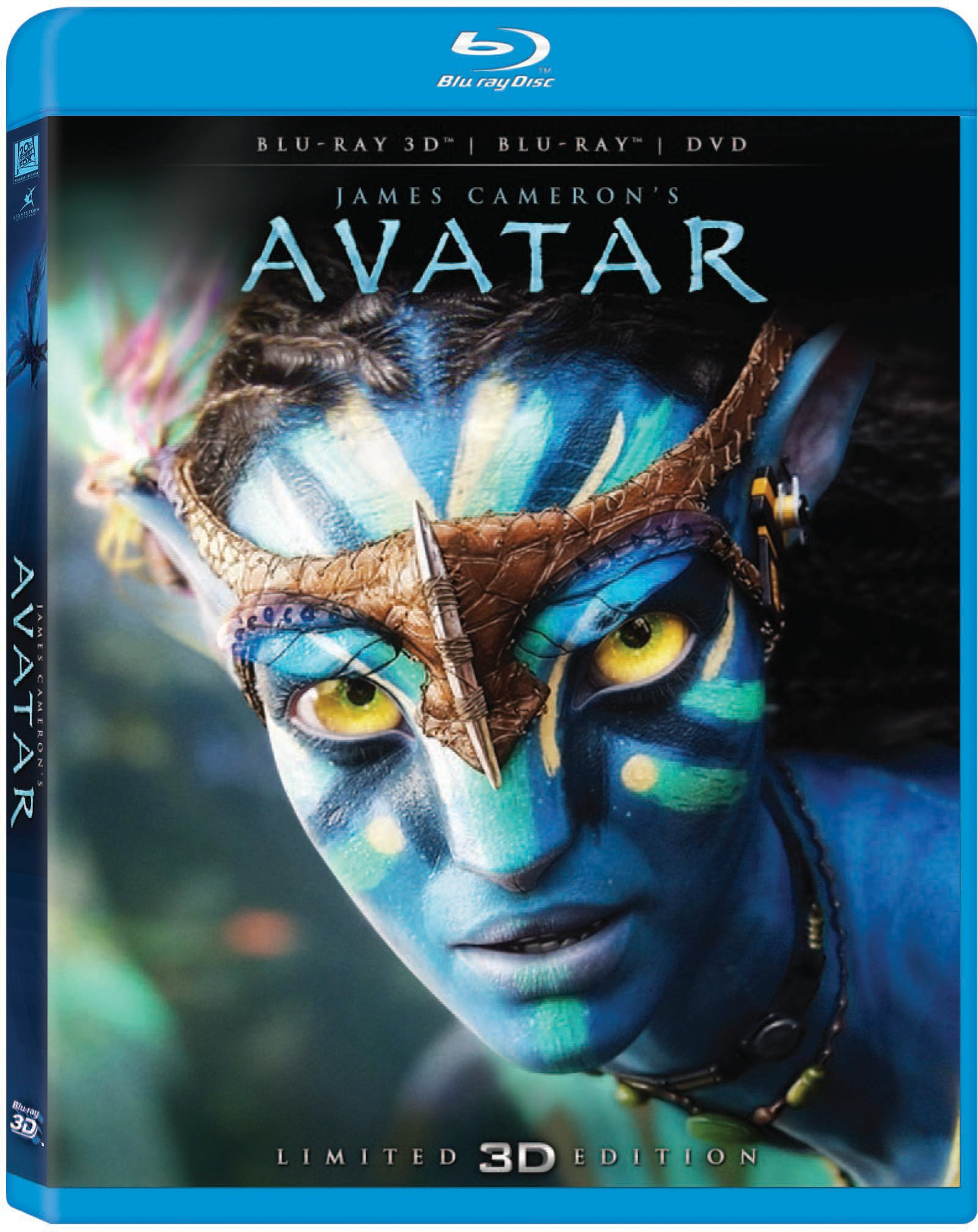 Blu-ray 3D : Avatar (With DVD, Limited Edition, Repackaged, Digital Theater System, AC-3)