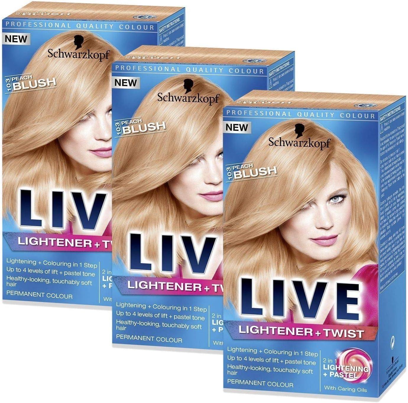 Schwarzkopf Live 103 Encendedor permanente de tinte de ...