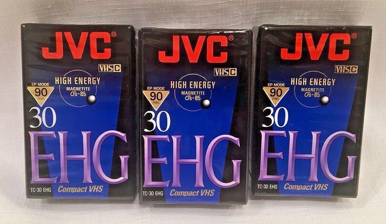JVC TC30EHGB 30 Minute Blank VHS-C Tape