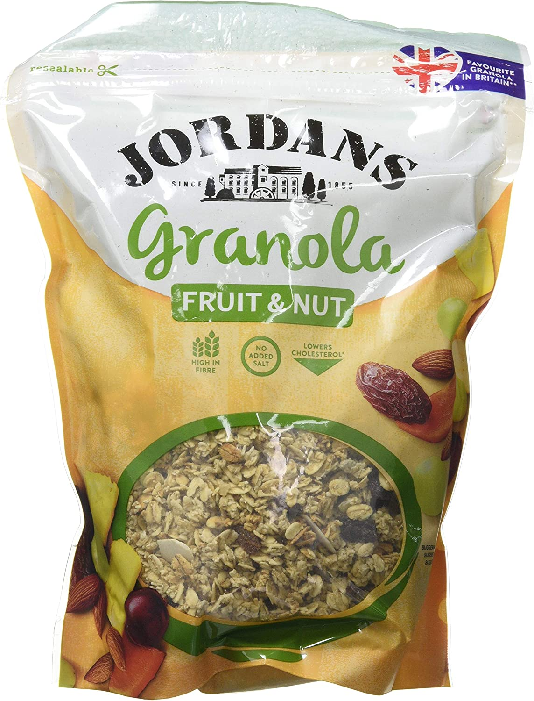 Jordans Cereal granola (Fruta y frutos secos) - 6 de 370 gr (Total 2220 gr.): Amazon.es: Alimentación y bebidas