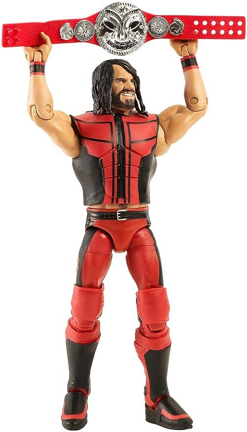 Seth Rollins W//Championship WWE Mattel Elite Summer Slam