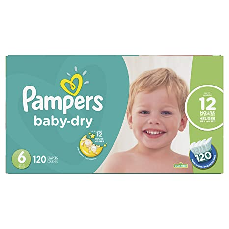 02de486733c Pampers Diapers Size 6