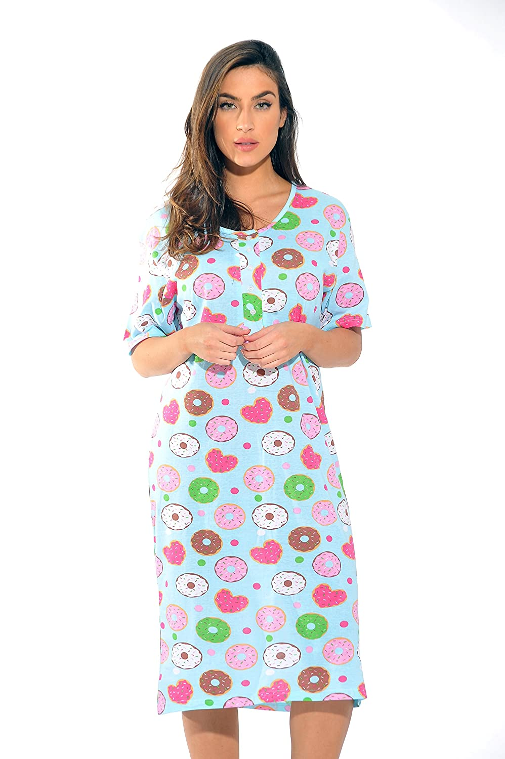 Just Love Short Sleeve Nightgown Sleep Dress Women