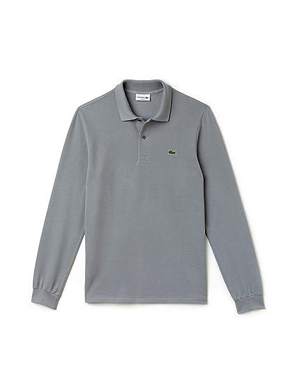 1426ab7435 Lacoste Men's Long-Sleeve Polo Shirt: Amazon.co.uk: Clothing