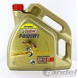 Castrol Power1 20W50 4T Huile Moteur 4L