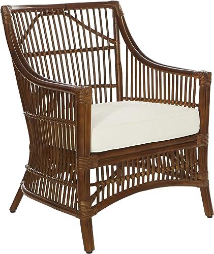 OSP Home Furnishings Maui Rattan Arm Chair